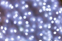 Abstraktes Silber und purpurroter bokeh Hintergrund Weihnachten-bokeh lig Lizenzfreie Stockfotos