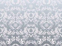 Abstraktes silbernes Dekorationmuster Stockfotografie