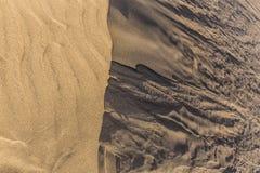 Abstraktes Sonderkommando von Sand-Düne-Kanarienvogel-Inseln, Spanien Stockfoto