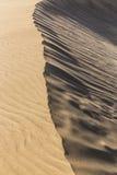 Abstraktes Sonderkommando von Sand-Düne-Kanarienvogel-Inseln, Spanien Lizenzfreies Stockfoto