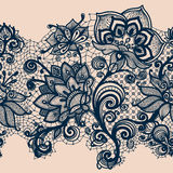 Abstraktes Spitze-Band Stockbild