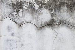 Abstraktes Sprungsmuster auf Zementwandhintergrund Stockbild