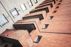 Abstraktes städtisches Architekturfragment Stockbilder