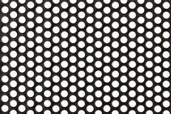 Abstraktes Stahl-oder Metallstrukturiertes Muster mit Roun Lizenzfreies Stockbild