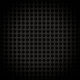 Abstraktes Stahl-oder Metallstrukturiertes Muster mit Rundzellen Stockfoto