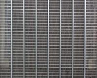 Abstraktes Stahlgitter vom Biesenheizkörper Lizenzfreie Stockfotografie