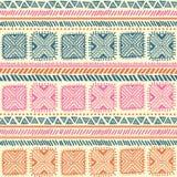 Abstraktes Stammes- Muster Stockbild
