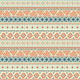 Abstraktes Stammes- Muster stock abbildung
