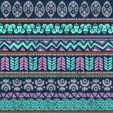 Abstraktes Stammes- Muster Stockfotografie