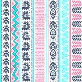 Abstraktes Stammes- Muster Lizenzfreie Stockbilder