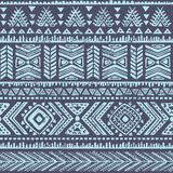 Abstraktes Stammes- Muster lizenzfreie abbildung