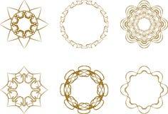 Abstraktes Sternsymbol lizenzfreie abbildung