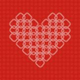 Stilisiertes Herz Stockbild