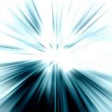 Abstraktes Strahlnlicht Stockfoto