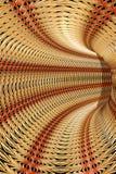 Abstraktes Stroh tunel Lizenzfreie Stockbilder