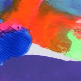 Abstraktes strukturiertes Acryl gemalter Hintergrund Stockbild