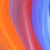 Abstraktes strukturiertes Acryl gemalter Hintergrund Stockfotos