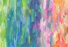 Abstraktes strukturiertes Acryl gemalter Hintergrund Lizenzfreie Stockfotos