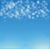Abstraktes Strukturstromkreiscomputerwürfeltechnologie-Geschäfts-BAC Lizenzfreies Stockfoto