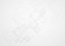 Abstraktes Strukturstromkreiscomputerwürfeltechnologie-Geschäfts-BAC Stockfotos