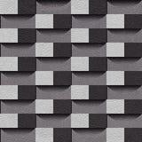Abstraktes Täfelungsmuster - nahtloser Hintergrund vektor abbildung