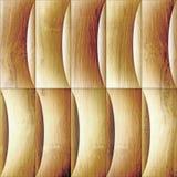 Abstraktes Täfelungsmuster - Wellendekoration vektor abbildung
