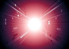 Abstraktes Technologiebewegungsdesign Stockfoto