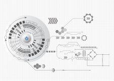 Abstraktes Technologiegeschäft Stockbilder