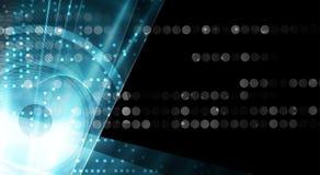 Abstraktes Technologiehintergrund Geschäft u. Entwicklungsrichtung Lizenzfreie Stockfotos