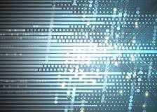 Abstraktes Technologiehintergrund Geschäft u. Entwicklungsrichtung Lizenzfreies Stockbild