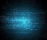 Abstraktes Technologiehintergrund Geschäft u. Entwicklungsrichtung Lizenzfreie Stockfotografie