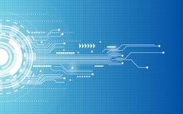 Abstraktes Technologiehintergrund-Kommunikationskonzept Lizenzfreies Stockfoto