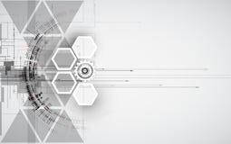 Abstraktes Technologiehintergrundgeschäft u. -entwicklung Lizenzfreies Stockfoto