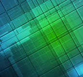 Abstraktes Technologiehintergrundgeschäft u. -entwicklung Stockfotografie