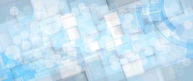 Abstraktes Technologiehintergrundgeschäft u. -entwicklung Stockbild