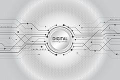 Abstraktes Technologiekommunikationskonzept Lizenzfreie Stockfotografie