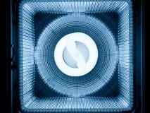 Abstraktes Technologielicht Stockfoto
