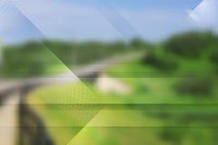 Abstraktes Technologievektordesign. Steigungsmasche Lizenzfreie Stockbilder