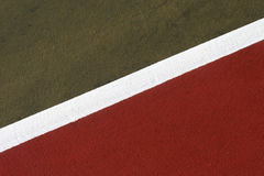 Abstraktes Tennis-Gericht Stockfotos