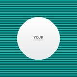 Abstraktes Textboxdesign mit Linien Musterhintergrund Stockfotos