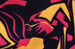 Abstraktes Textilmuster Stockbilder