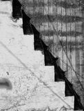 Abstraktes Treppenhaus Stockbild