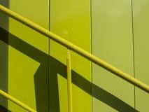 Abstraktes Treppenhaus Stockfotografie
