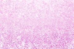 Abstraktes Unschärfegoldfunkelnweihnachtsereignisfeier-Karte desi stockbild