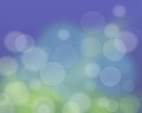 Abstraktes Unschärfehintergrundblau. bokeh Effekte Stockfoto