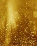 Abstraktes Unschärfehintergrundlichtgold, -weiche und -eleganz Stockfotos