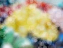 Abstraktes unscharfes Mehrfarben des Hintergrundes Weiche Stockfotos
