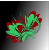 Abstraktes Vektor-Grafik-Bild lizenzfreie abbildung