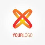 Abstraktes Vektorlogo, für Ihre Firma Lizenzfreies Stockfoto
