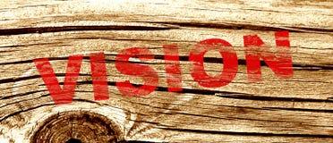 Abstraktes Visionszeichen Lizenzfreies Stockbild
